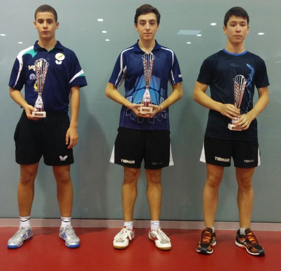 Vítor Amorim e Tiago Li medalhados no Top 12