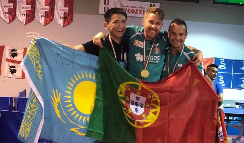 Cláudio Mendes (CSM) Campeão Europeu