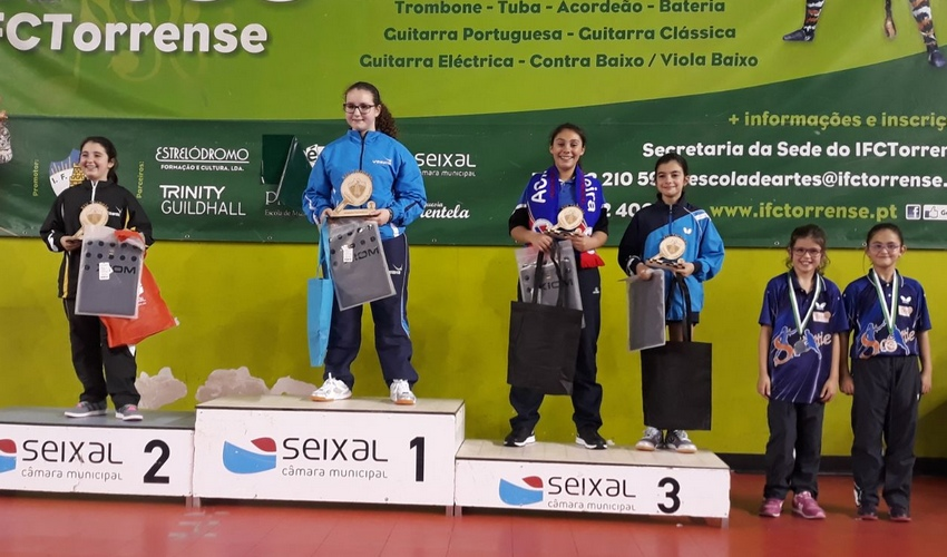 14º Torneio do Seixal - Sara Ferreira (ACM Madeira) 3ª em Infantis Femininos