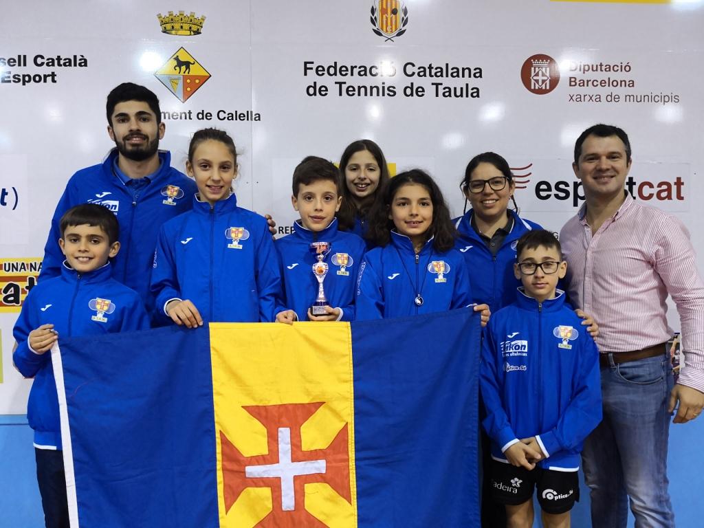 Madeirenses concluem participação na Catalunha
