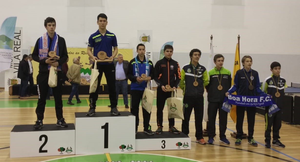 Tiago Li (CD São Roque) vence Torneio Transmontano