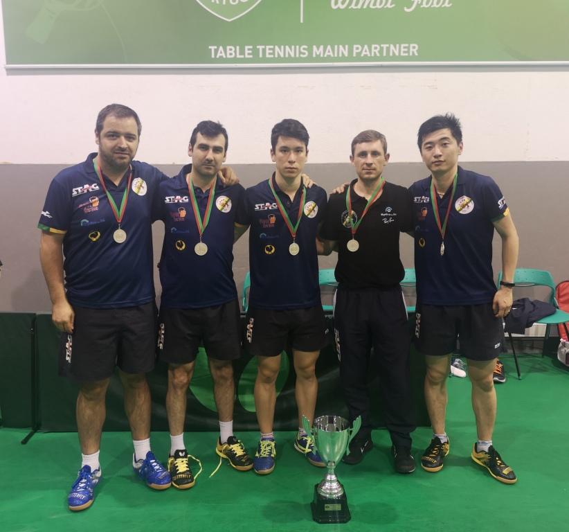 CD São Roque/STAG Vice-campeão nacional