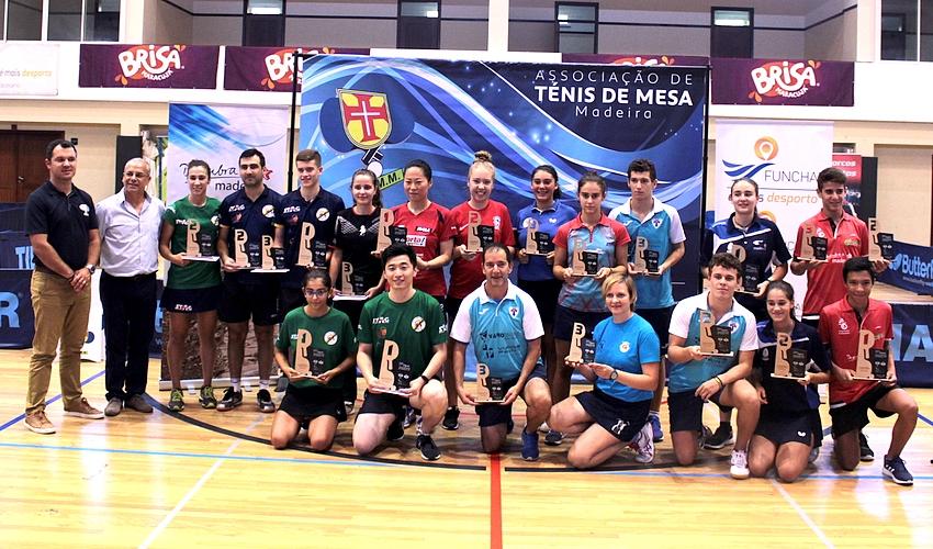 23º Open da Madeira - Zhao Tianming e Fu Yu vencem em Singulares