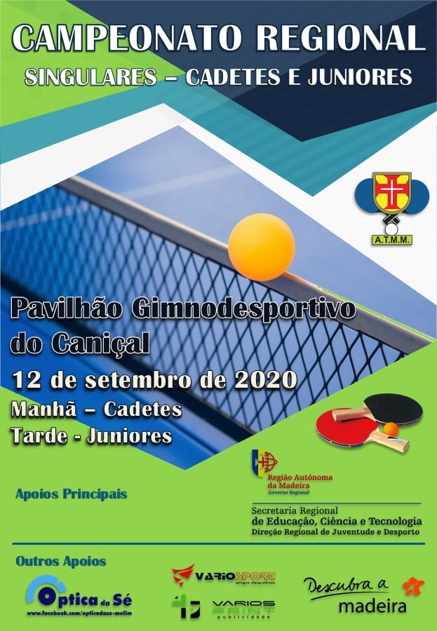 Campeonato Regional de Singulares Cadetes e Juniores