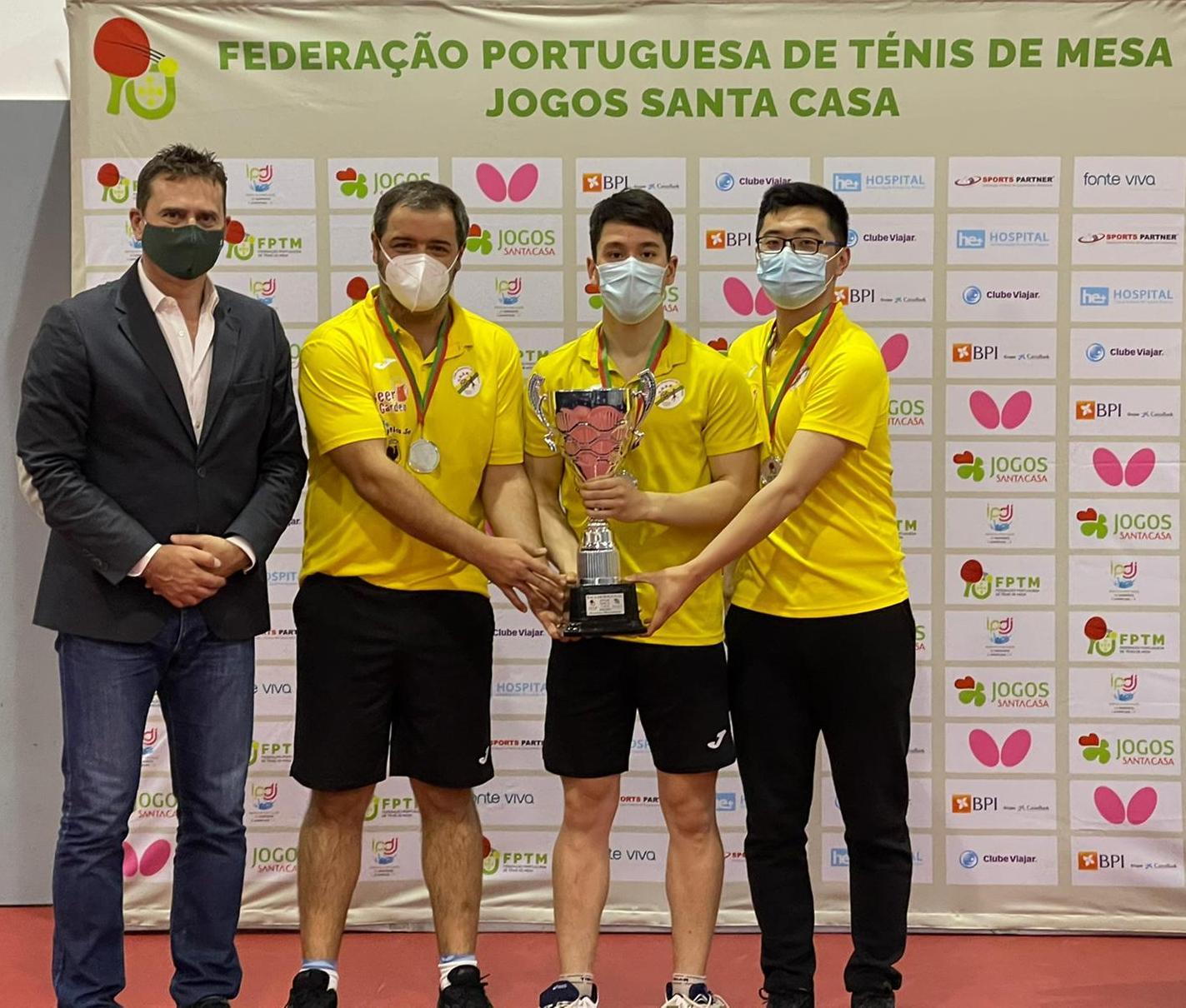 CD São Roque finalista vencido na Taça
