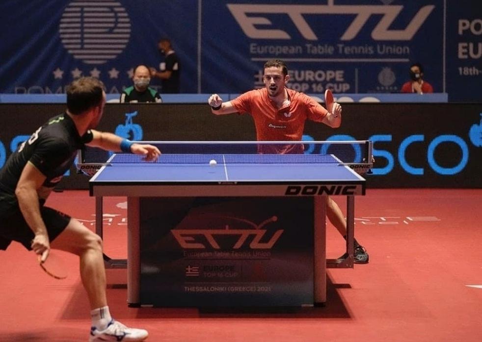 Marcos e Fu nas Finais do Top 16 Europeu de Seniores