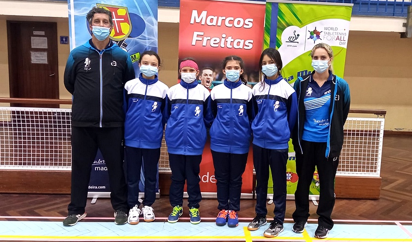 Resultados do Campeonato Regional de Equipas Jovens